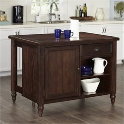 Kitchen Island in Aged Bourbon