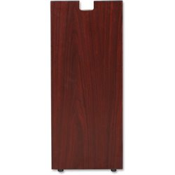 Lorell Essentials Srs Mahogany Laminate Bookshelf