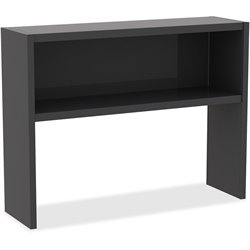 Lorell Comm. Desk Series Charcoal Stack-on Hutch