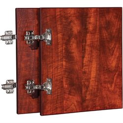 Lorell Essentials Cherry Wall Hutch Door Kit