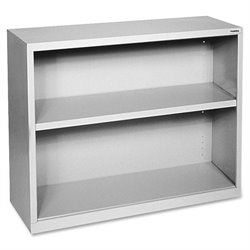 Lorell Fortress Series Light Gray Steel Bookcases