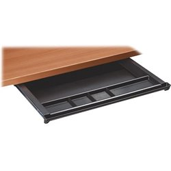Lorell 5-Comp Plastic Center Drawer