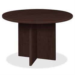 Lorell Prominence Laminate Round Conference Table