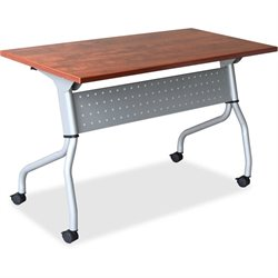 Lorell Cherry Flip Top Training Table