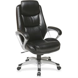 Lorell Executive Headrest Eco Leather Chair