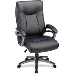 Lorell Leather High-back Executive Chair