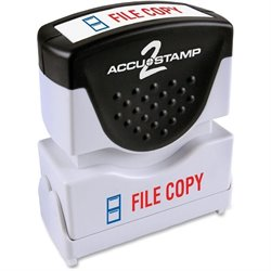 Cosco 2-Color Shutter Stamp w/ Microban